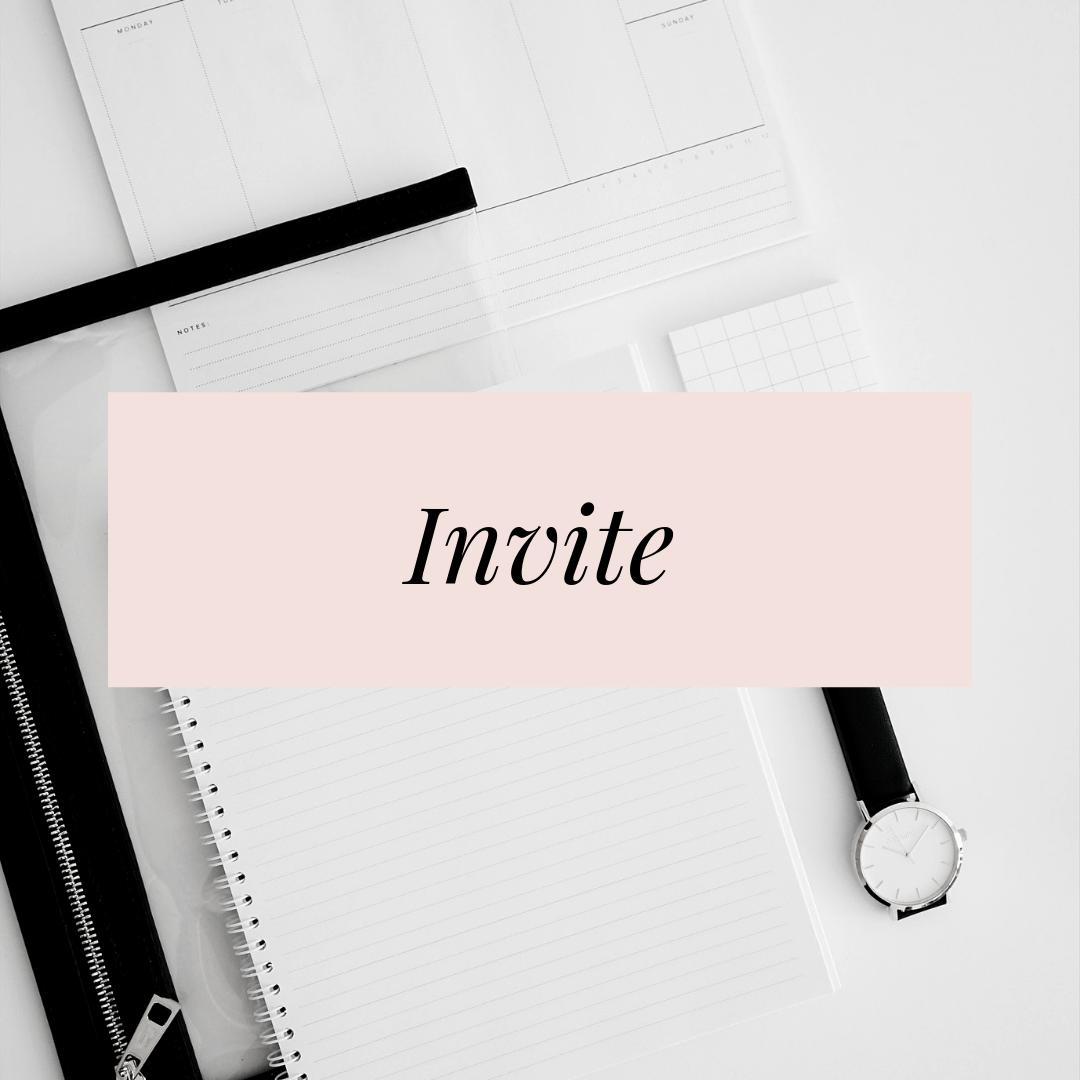 Invite Heather Ferroni