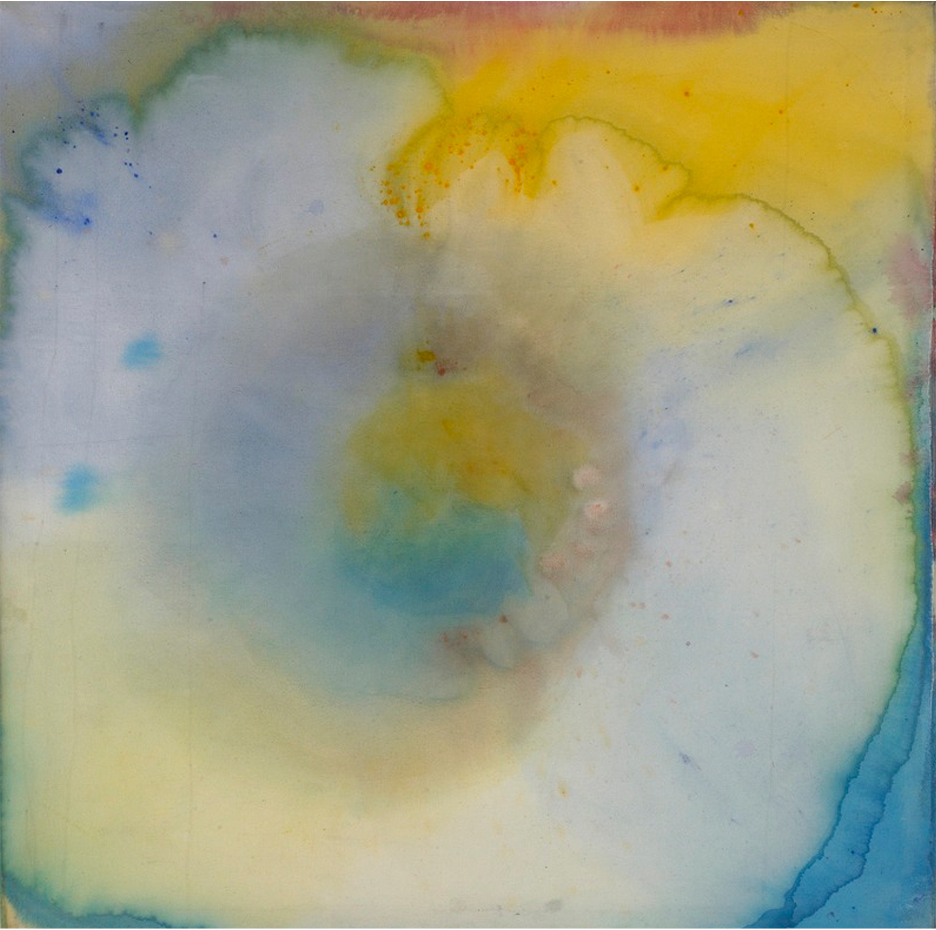 Blue And Yellow #51 (Expansionist Series), 1967