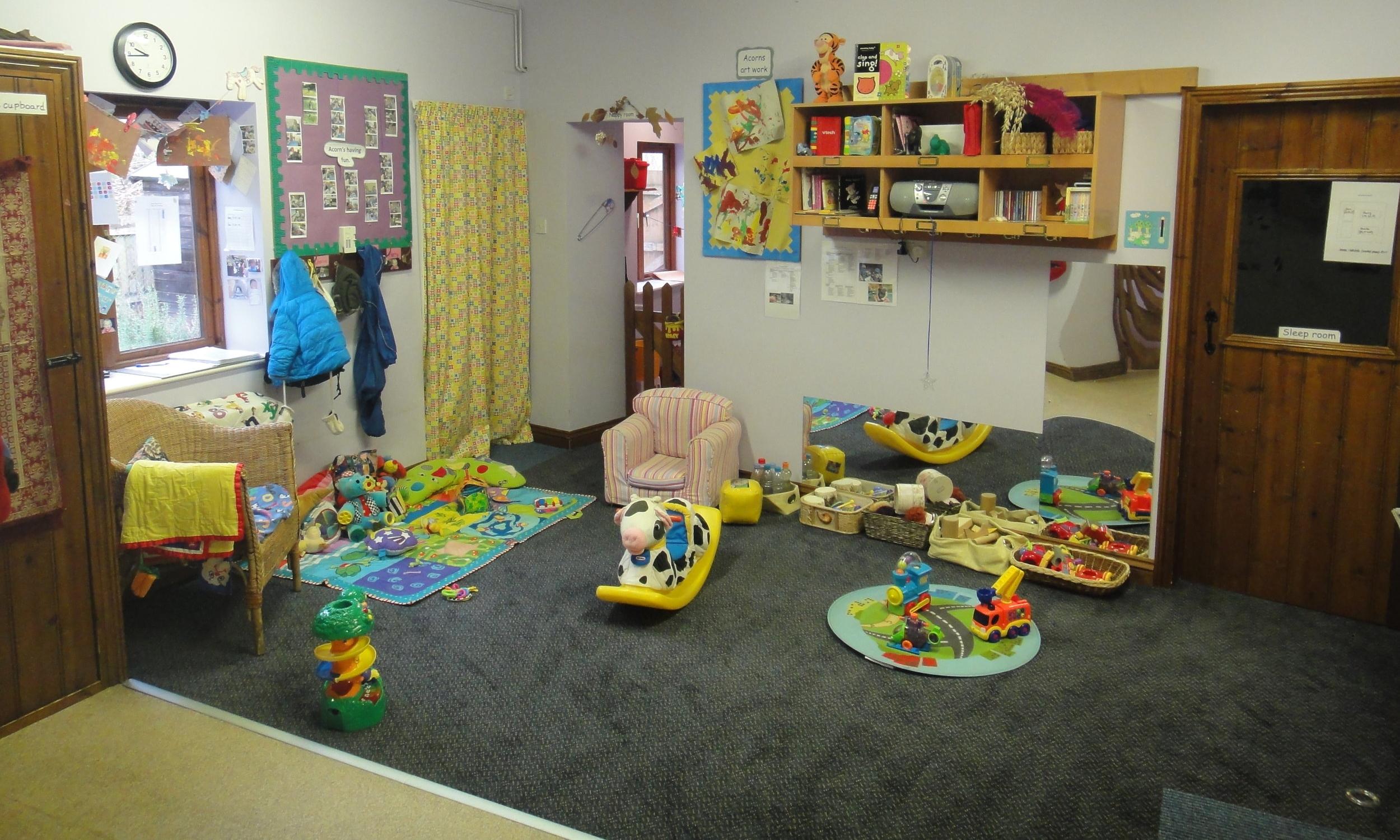 The Acorns' room