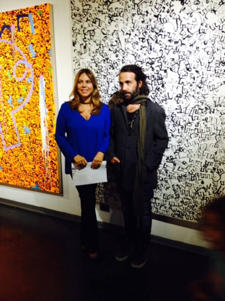 Emanuele Parmegiani con Paola Valori, 2017