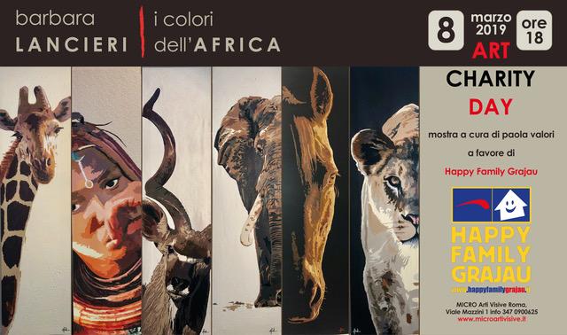 ART CHARITY DAY - Barbara Lancieri, i colori dell'Africa