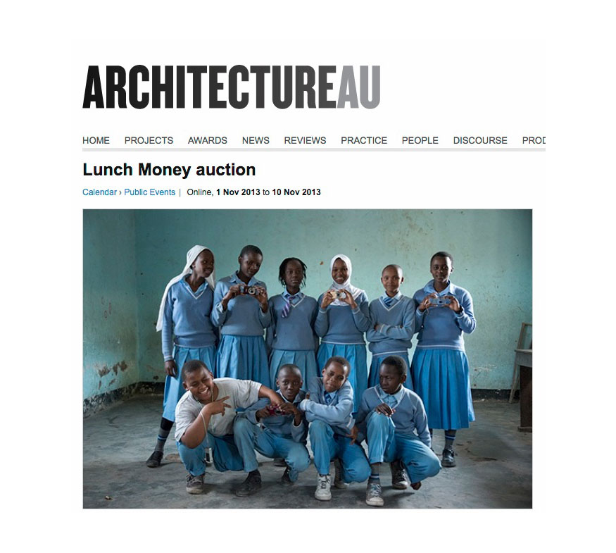 Architecture AU - Lunch Money Auction - Australian architectural photographer Dianna Snape has tapped into good-hearted (mostly-Melbourne) creatives...