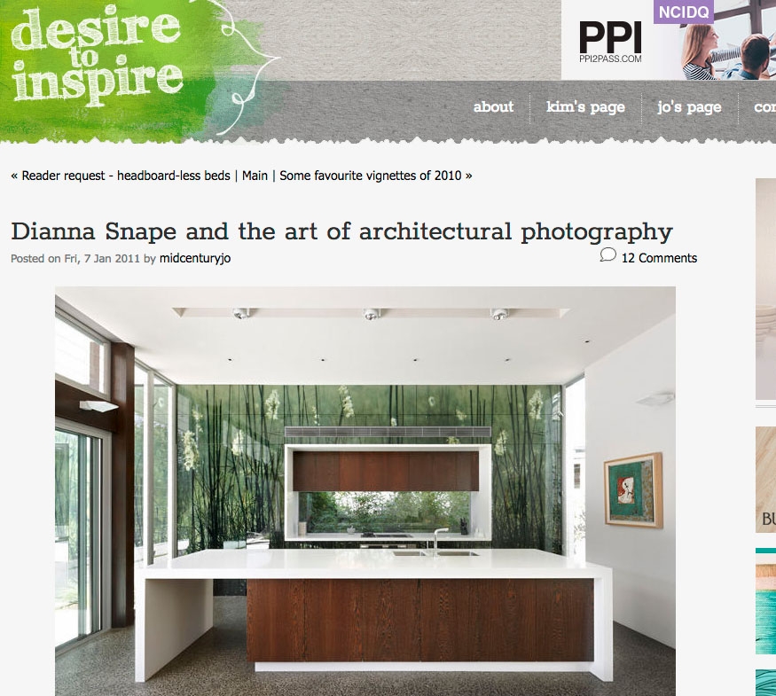 The Art of Architectural Photography - Ever notice the difference between editorial photography and architectural photography? One conveys a story, the other an idea. The first is often styled and