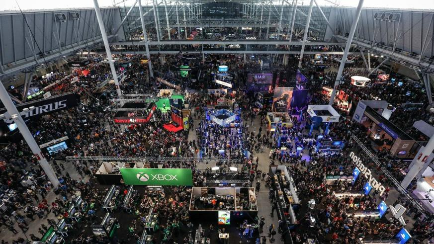Pax East 2018 from above