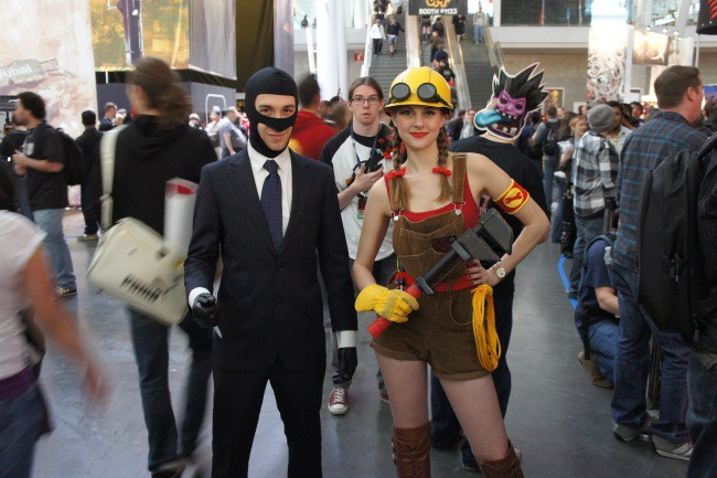 Team Fortress 2 Cosplay at PAX