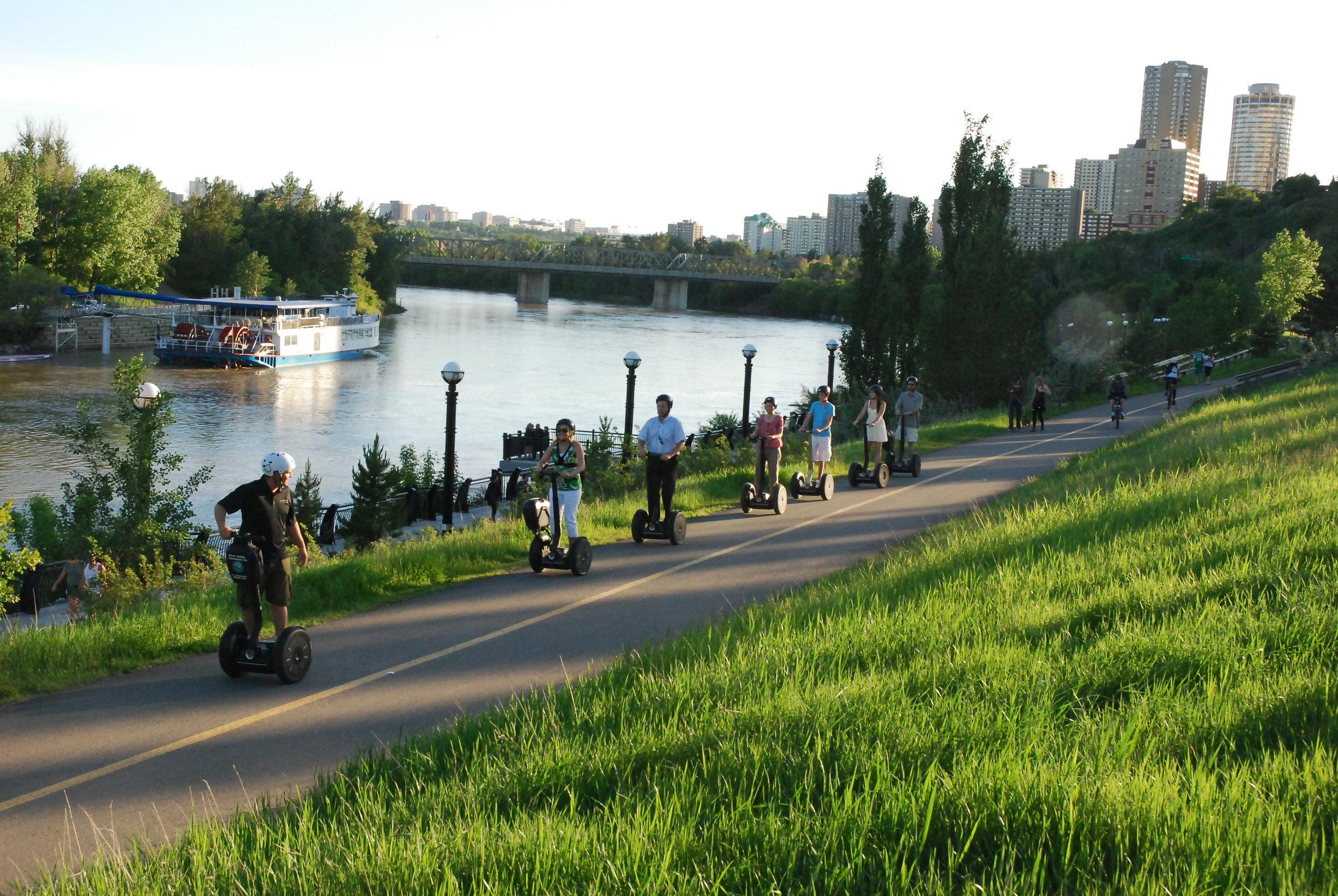 Book a Segway Tour in Edmonton or Calgary
