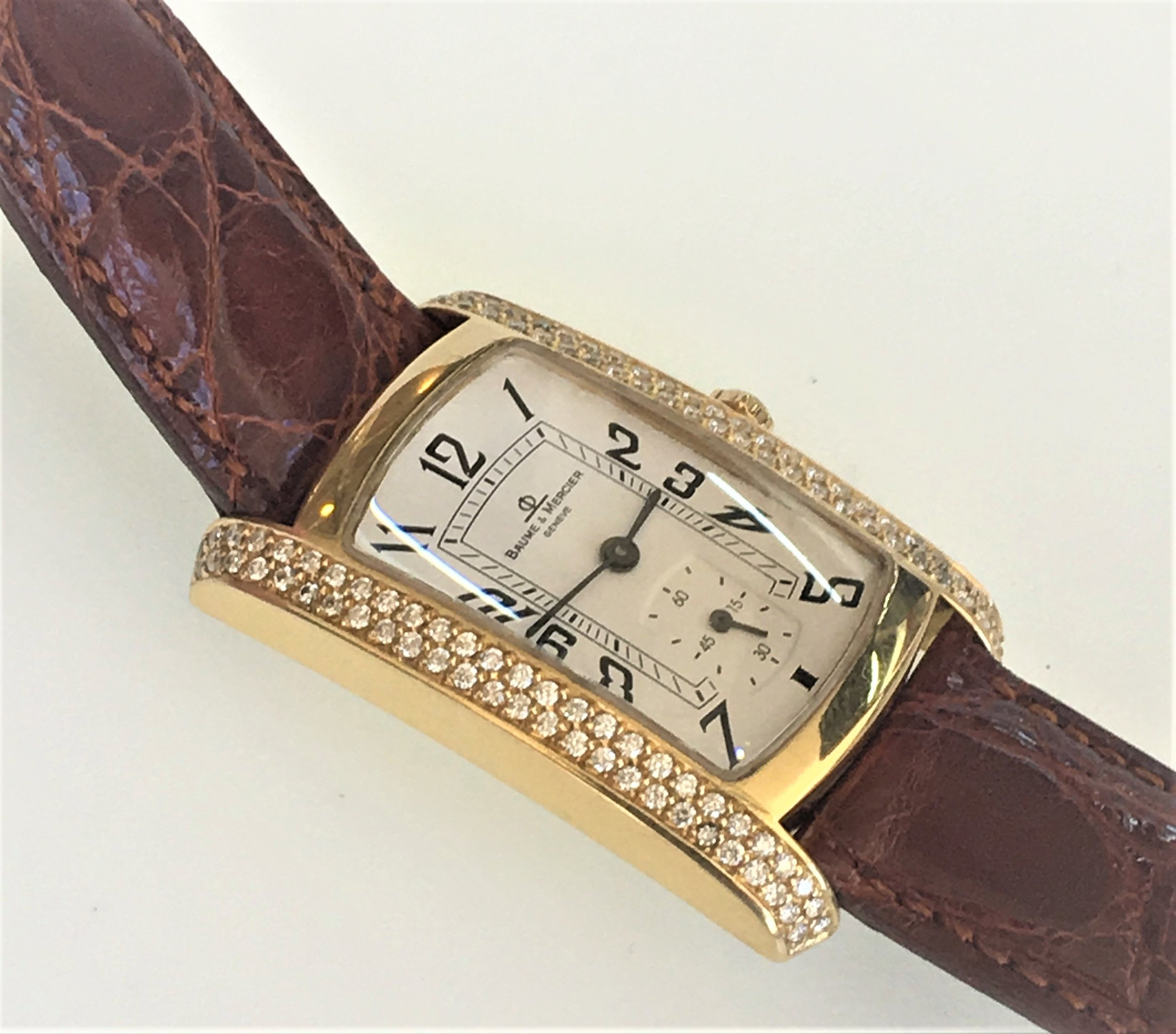 Watch Baume & Mercier Geneve Diamond .Tampa Jewelry Store Watch Repair
