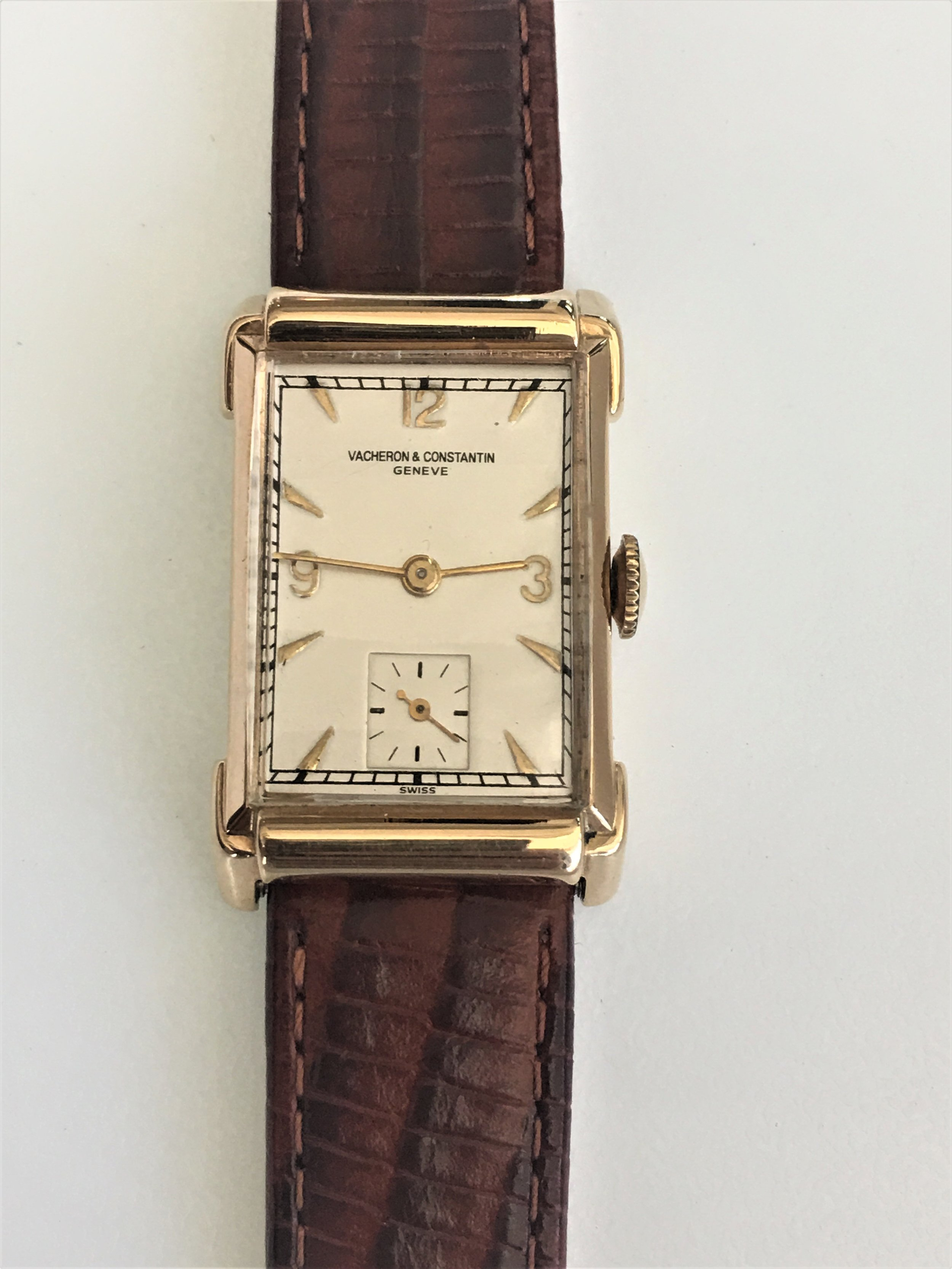 Watch Vacheron & Constantin Geneve . Tampa jewelry store watch repair