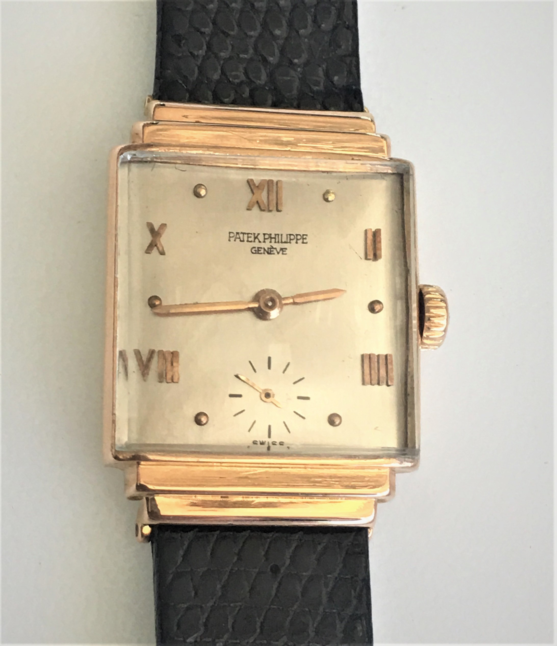 Watch Patek Philippe Geneve Gold . Tampa Jewelry Store Watch Repair