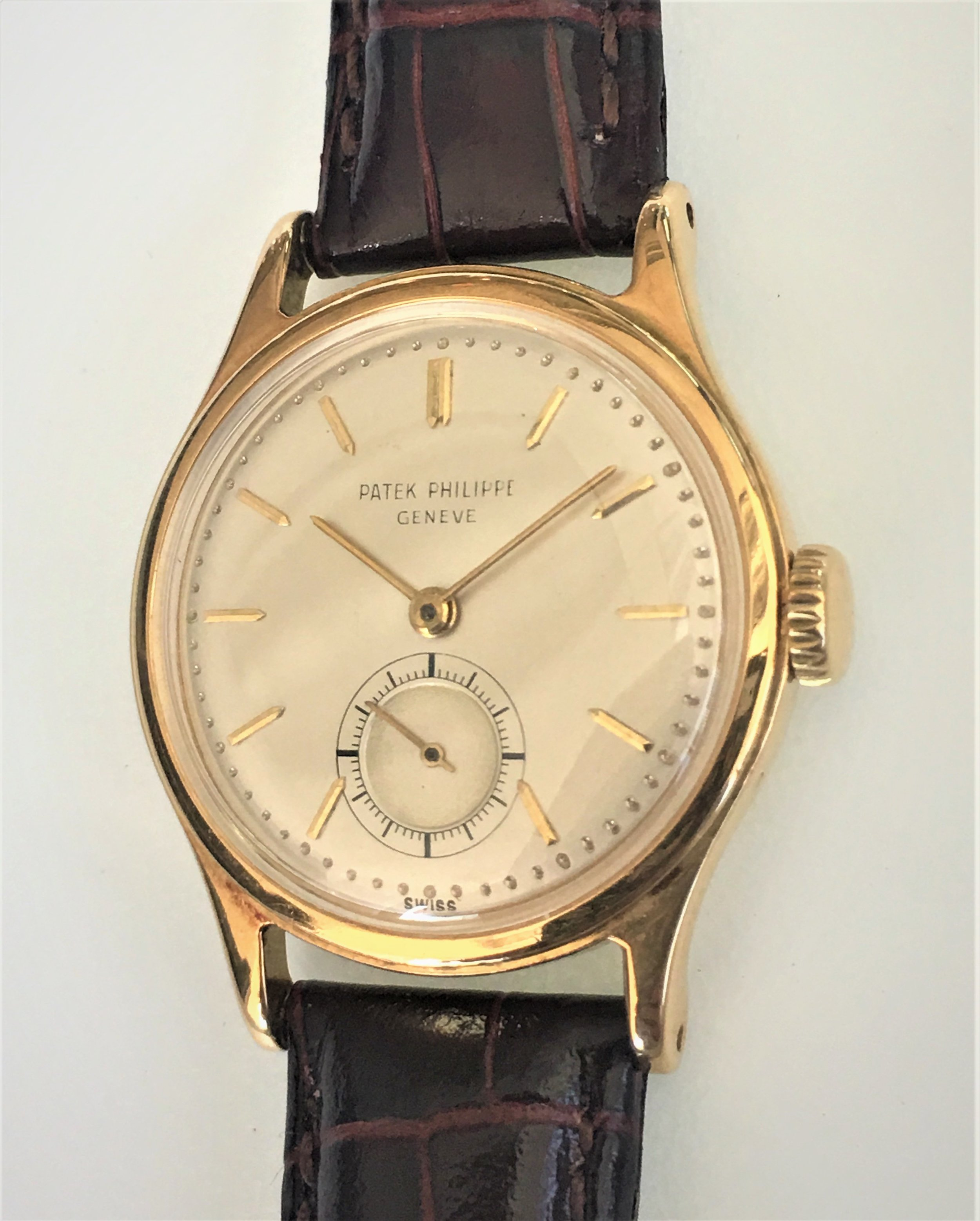 Watch Patek Phillippe Geneve Gold. Tampa Jewelry Store Watch Repair