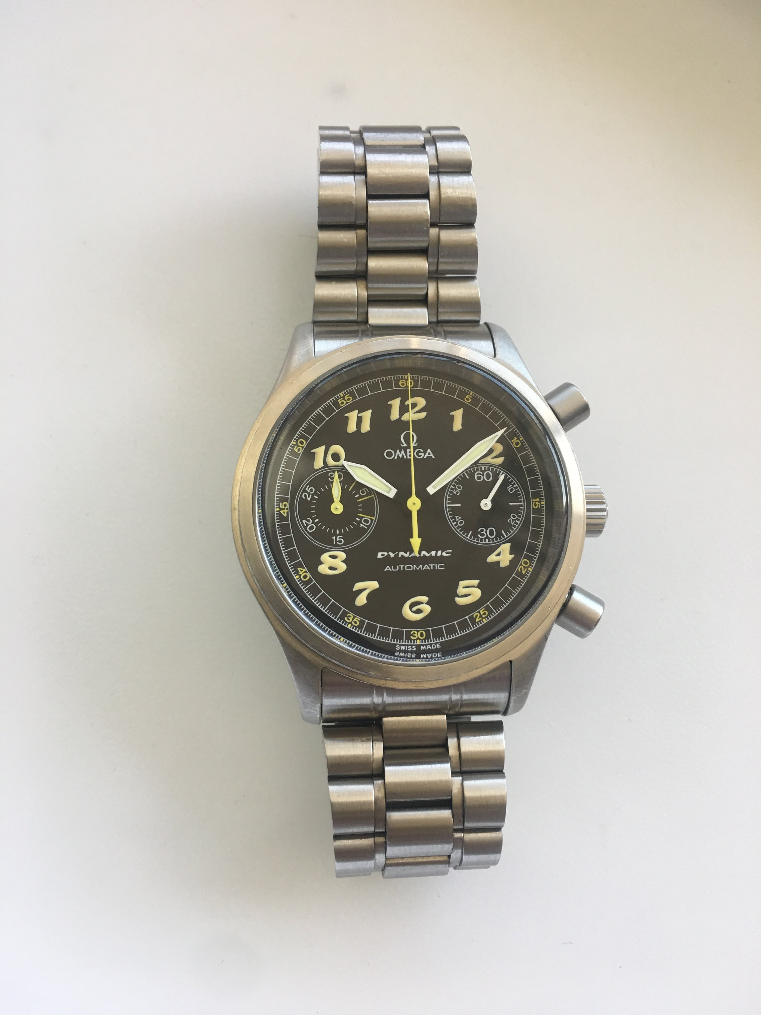 omega dynamic automatic. Tampa jewelry store watch repair