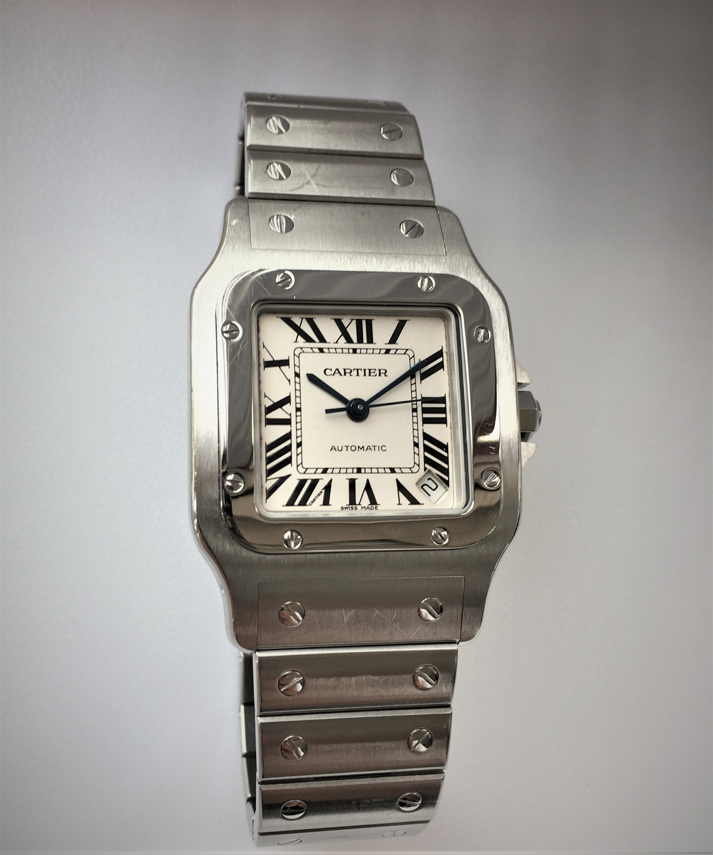 Watch  Cartier Automatic . Tampa Jewelry Store Watch Repair