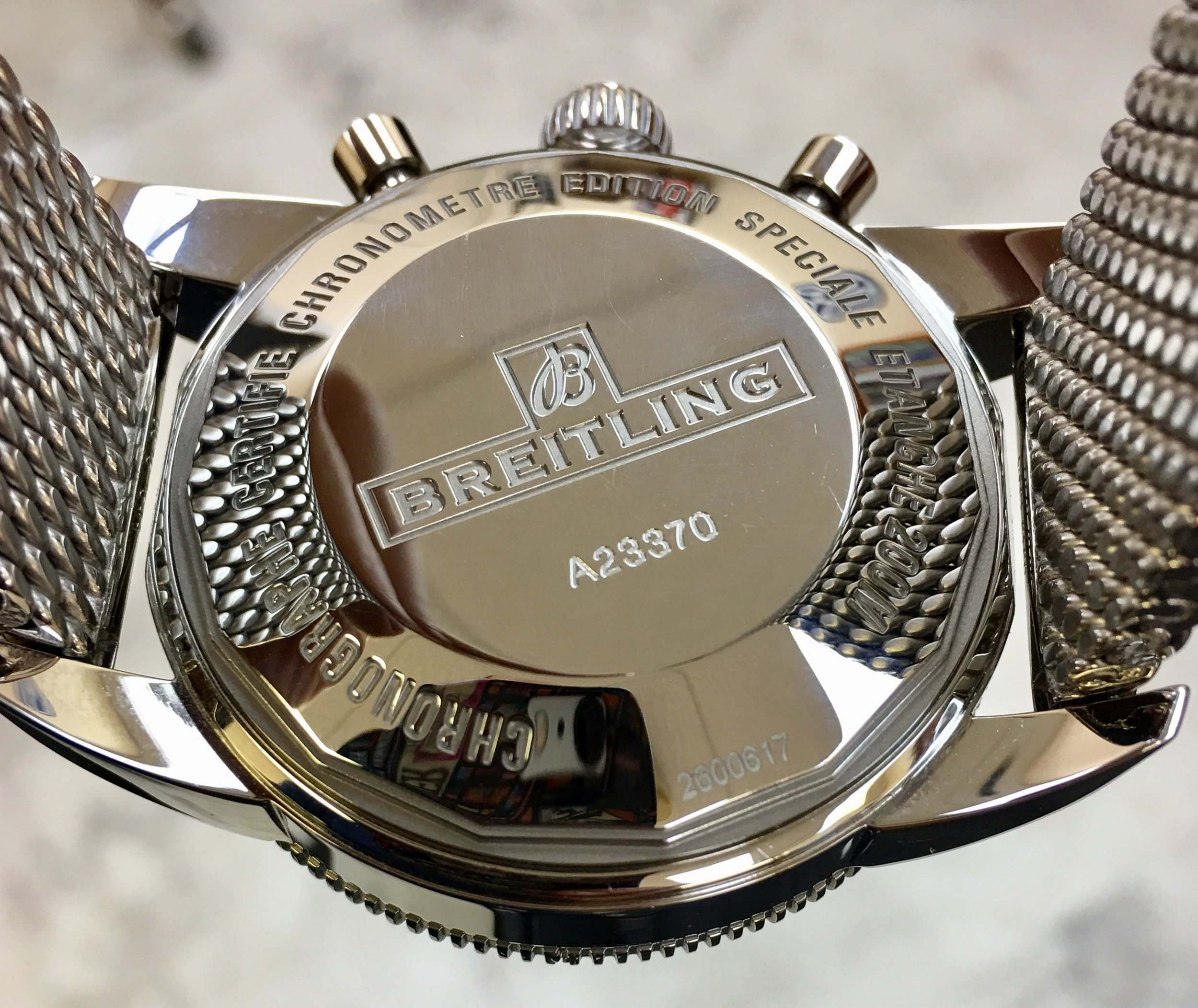 Watch Breitling 1884 superocean chronographe automatic . Tampa jewelry store watch repair