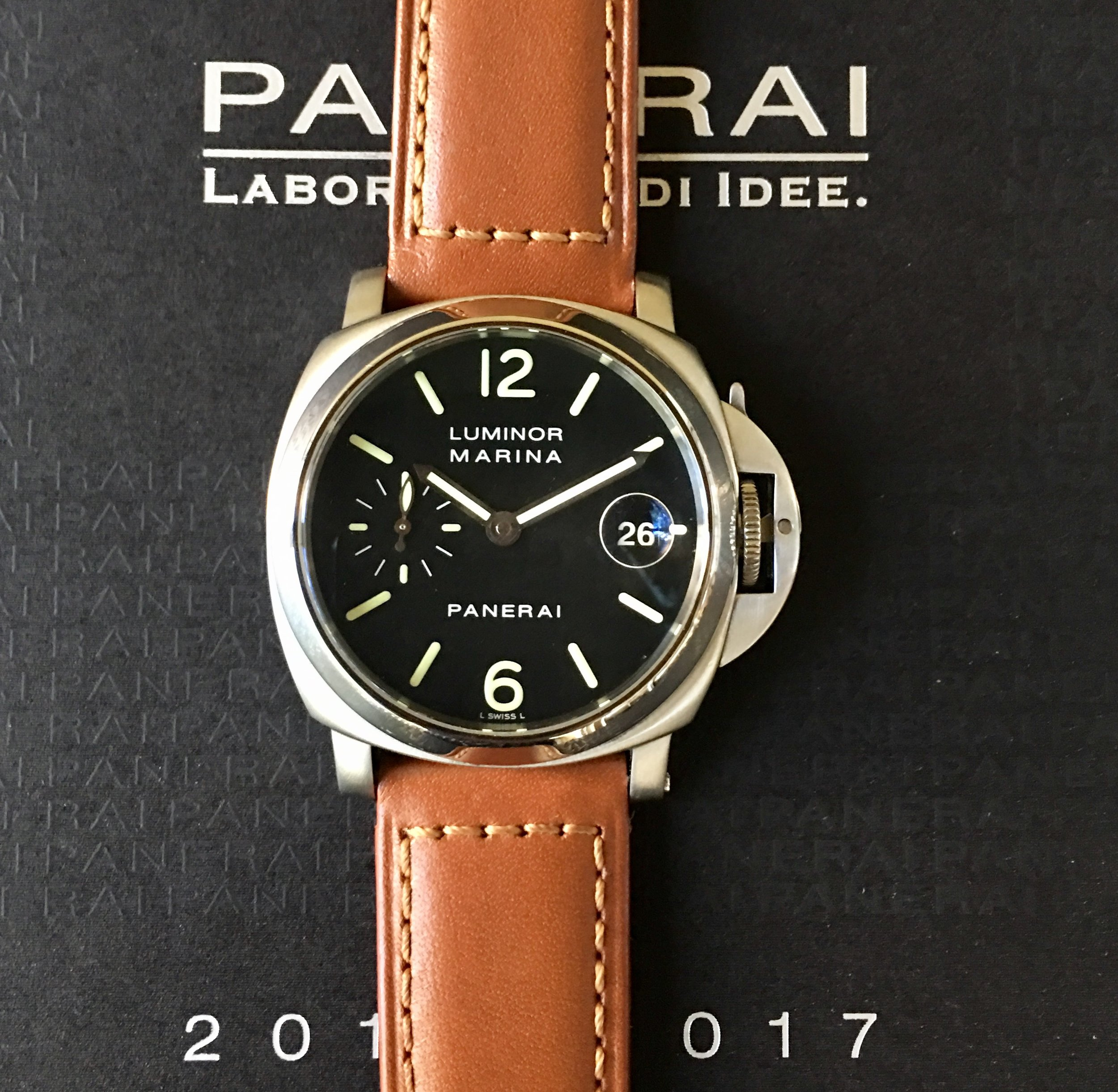 Watch Luminor Marina Panerai  .Tampa Jewelry Store Watch Repair