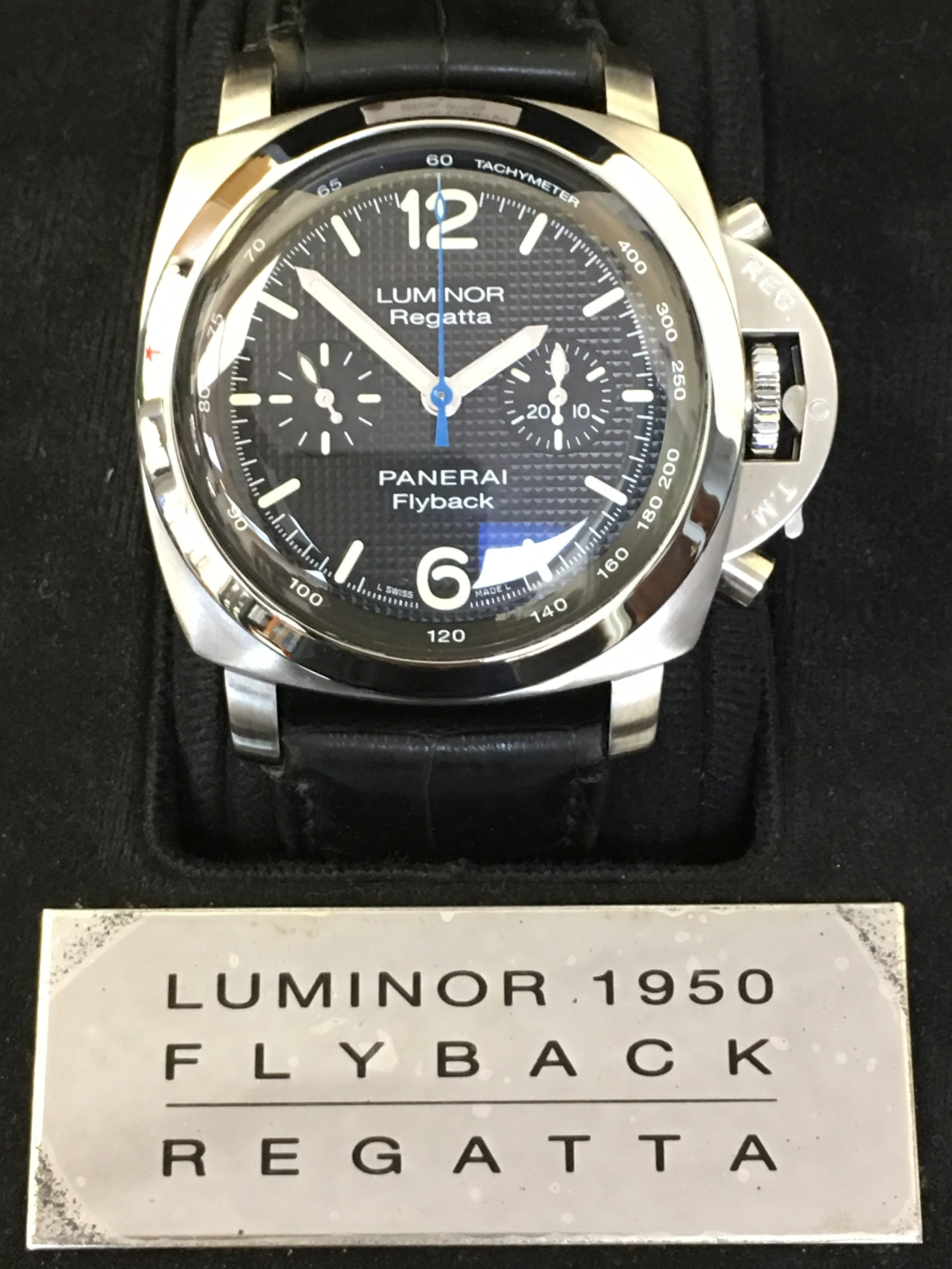 Watch Luminor Regatta Panerai Flyback . Tampa Jewelry Store Watch Repair