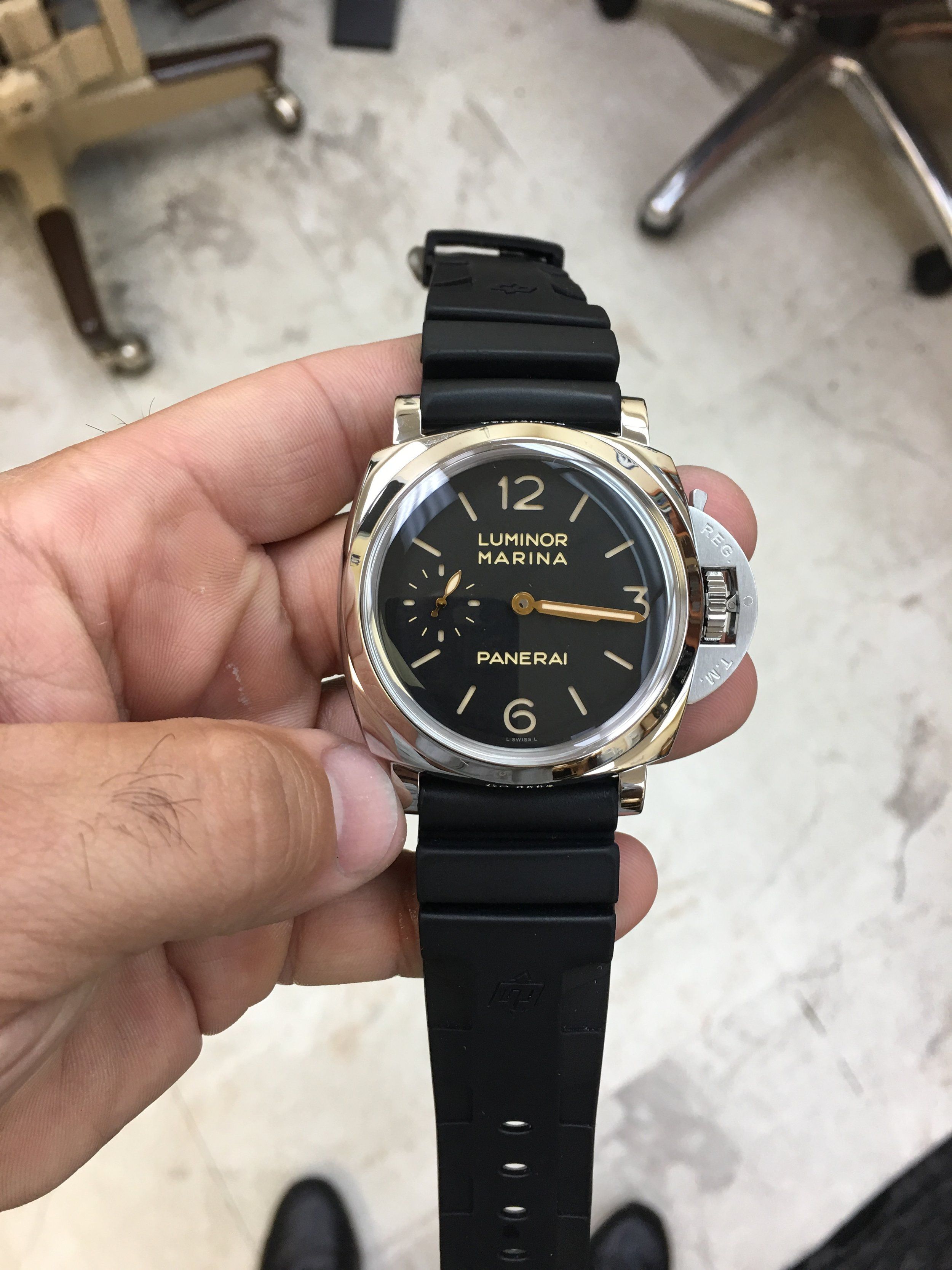 Watch Panerai Luminor Marina. Tampa Jewelry Store Watch Repair
