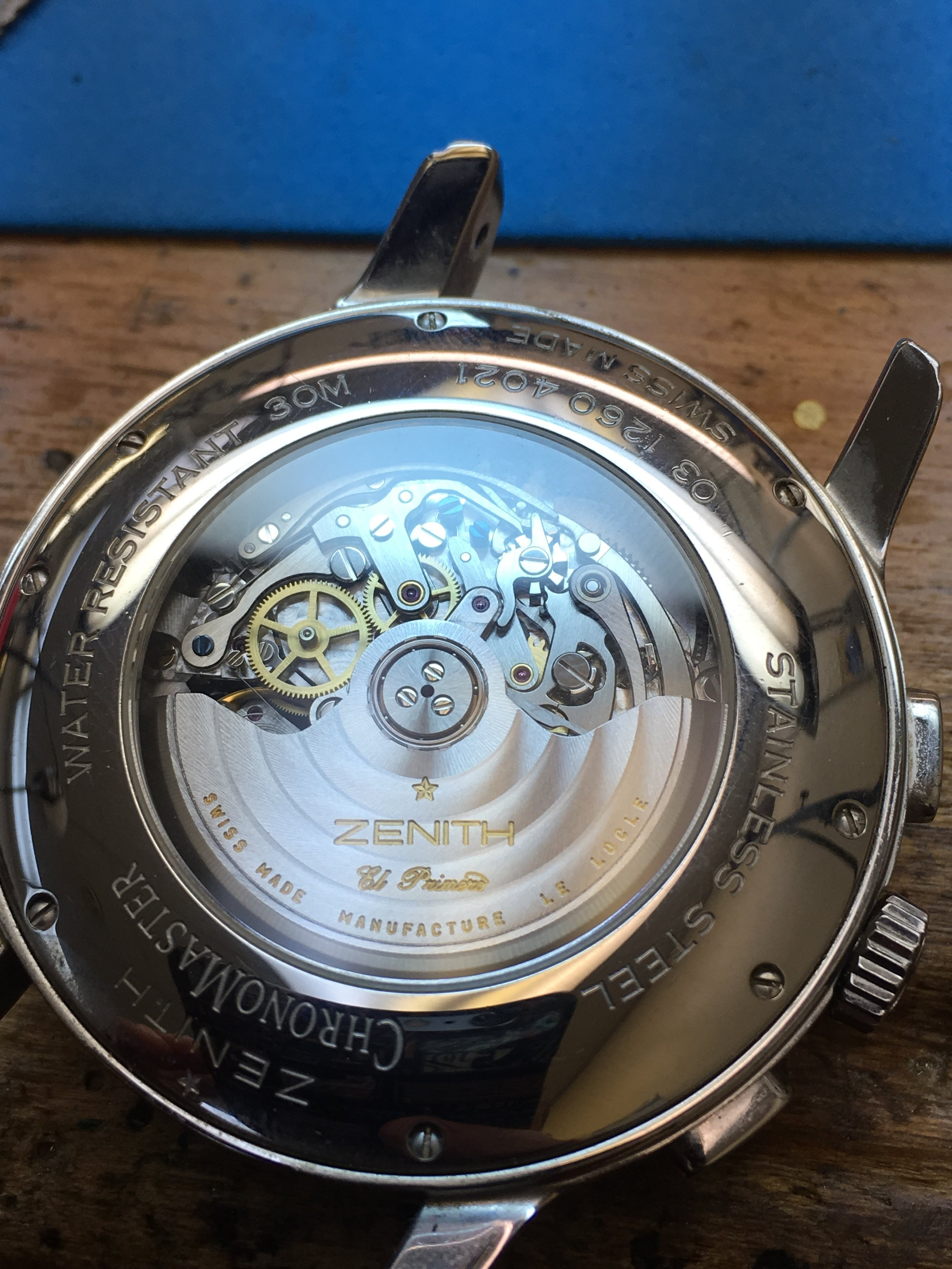 Watch Zenith . Tampa Jewelry Store Watch Repair