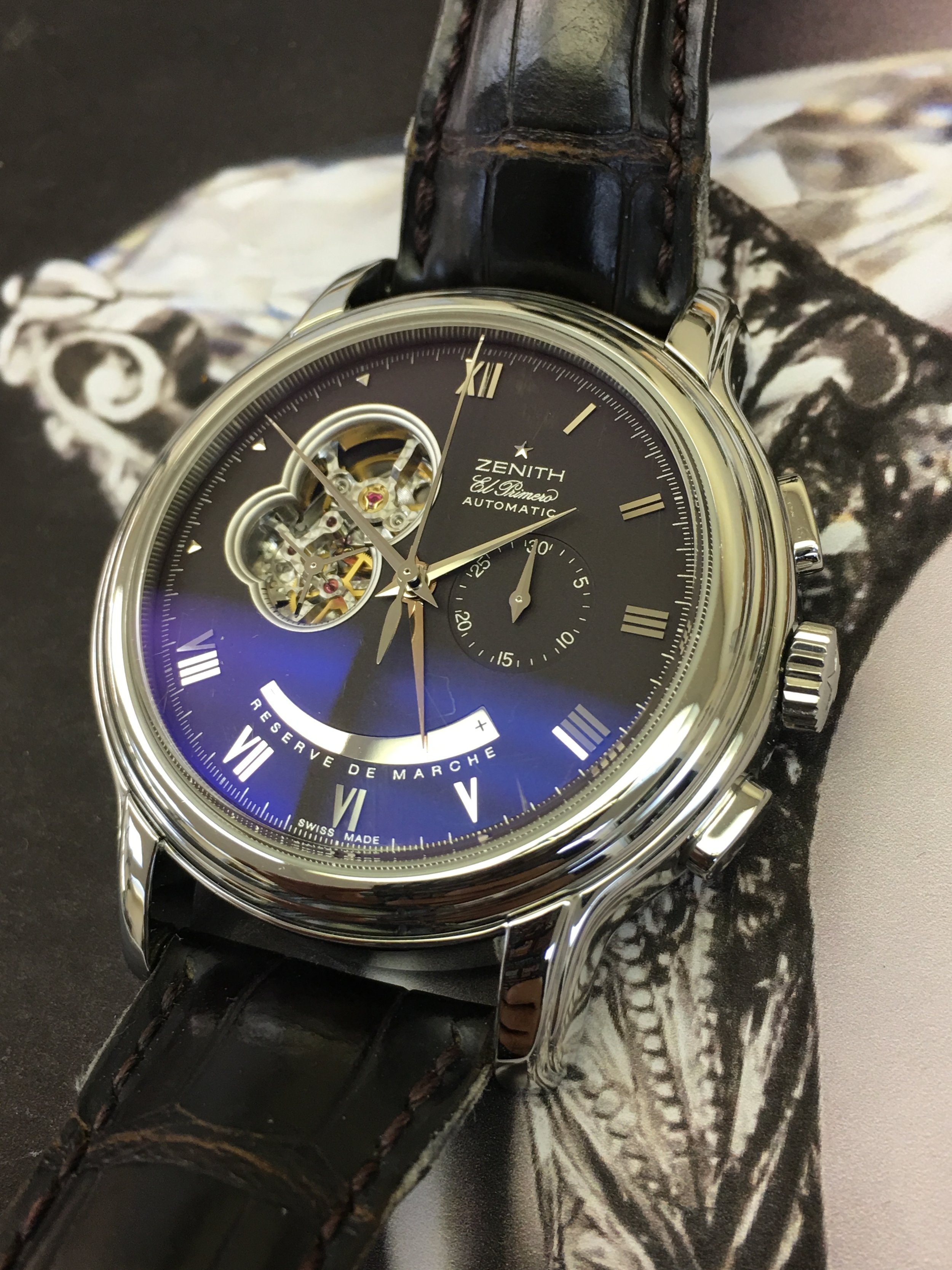 Watch Zenith El Primero Automatic . Tampa Jewelry Store Watch Repair