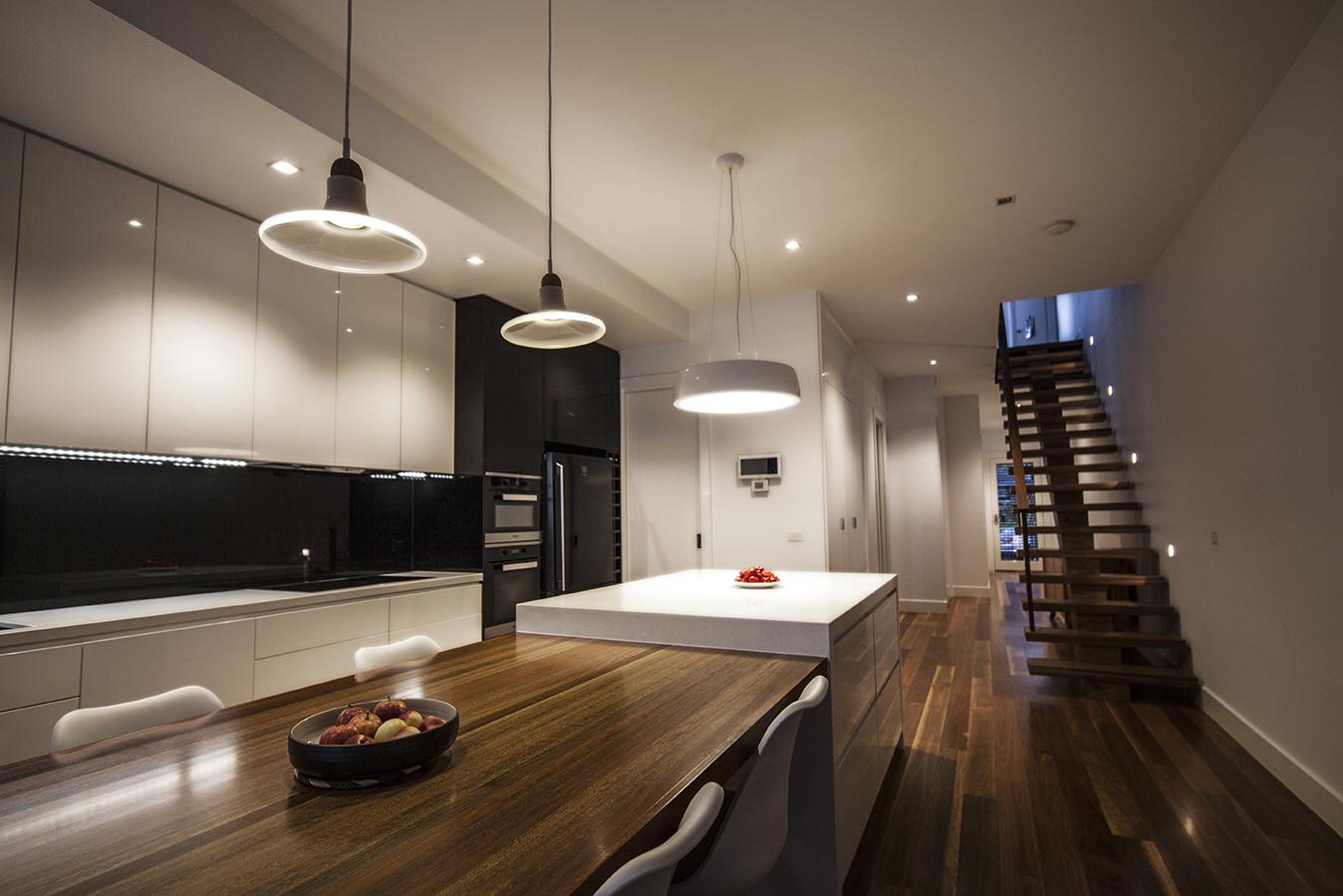 Kitchen, Dining Interior.