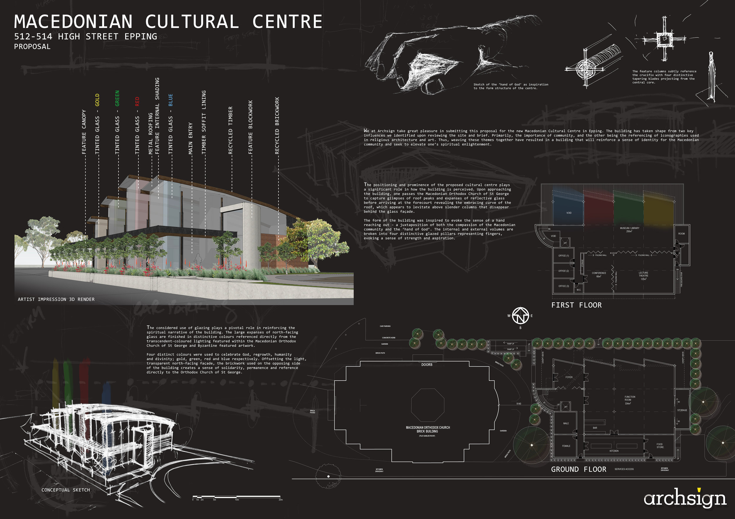 Design Proposal - Macedonian Cultural Center.