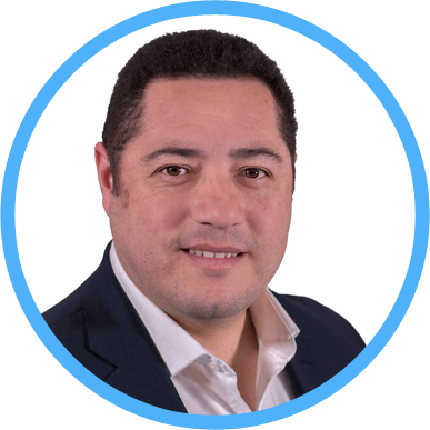 Blutip's Managing Director for Latin America Cristhian Tomaduz