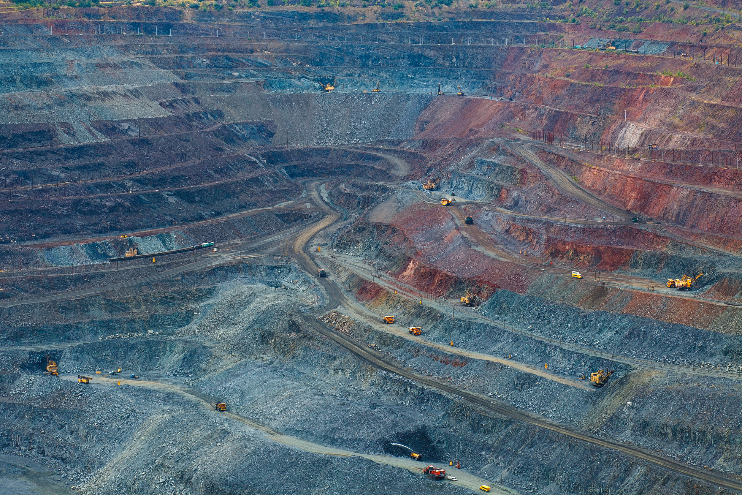 Mine Planning - 1) Plan to Efficiency2) Fuel Use Forecasting3) Production Forecasting4) Haul Route Maintenance