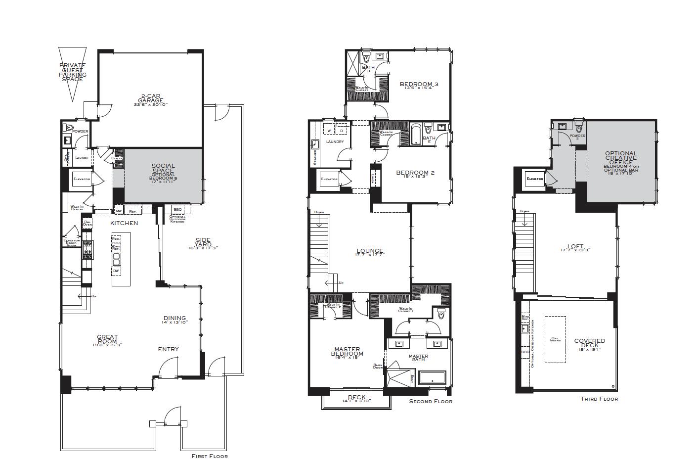 5916 Village Floor Plan