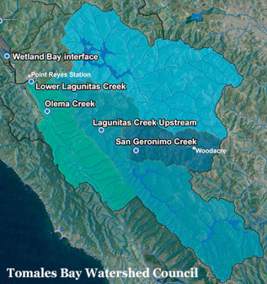 Tomales Bay Watershed includes the San Geronimo Valley, which is currently not included in the WMMC and MSMVCD agreement to limit the use of pesticides.