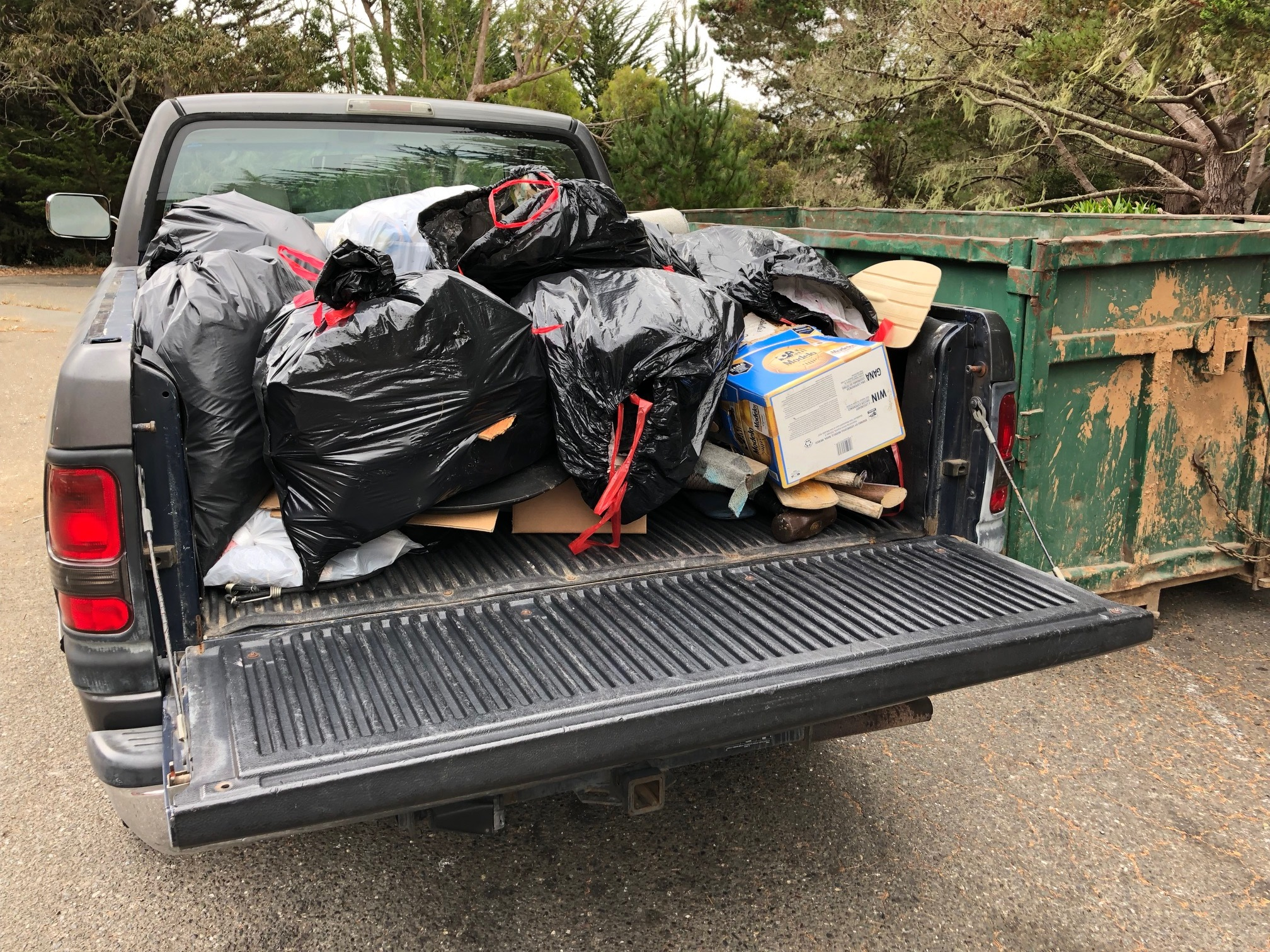 East Shore Planning Group's Haul from Along Hwy 1