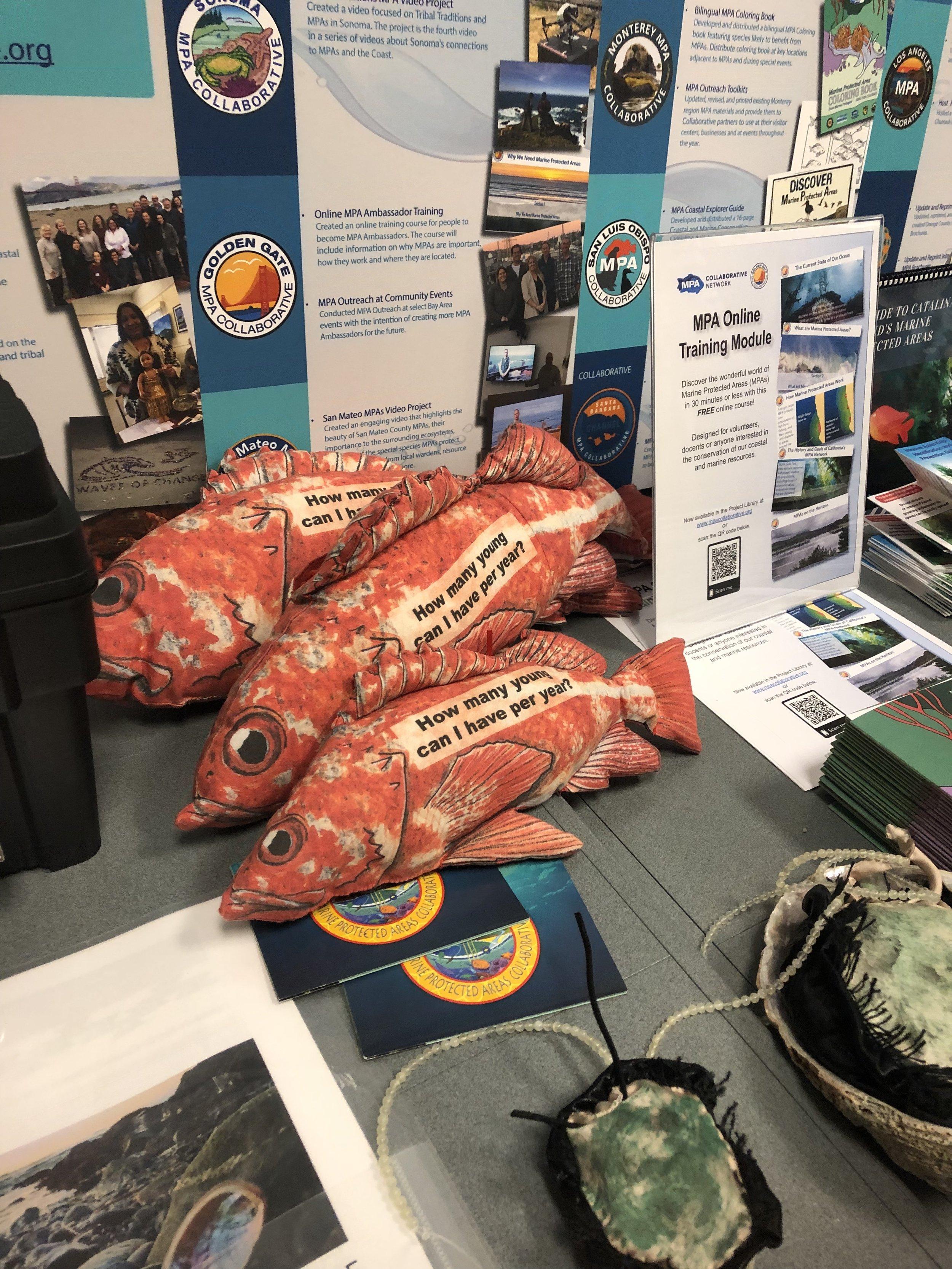 MPA Collaborative Network Display at Ocean Protection Council Meeting © Morgan Patton