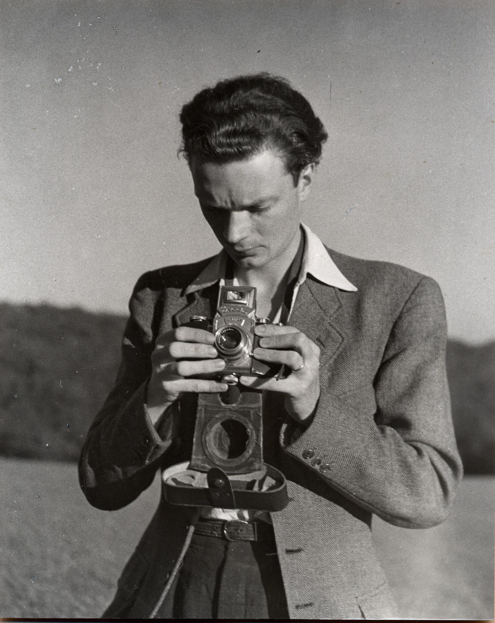 André photographié par Alice - 1948
