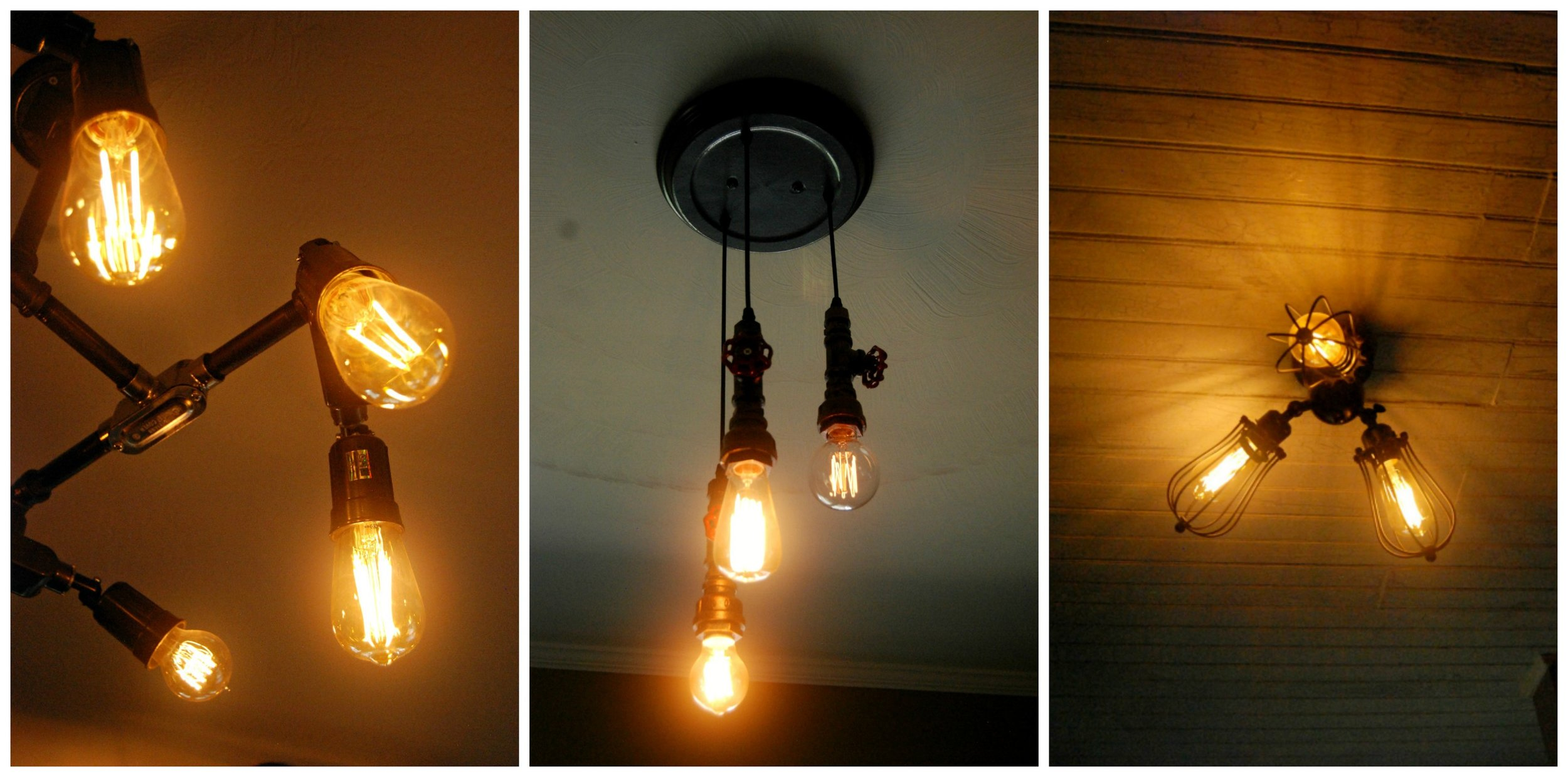 Just a few of the lighting features around the office.
