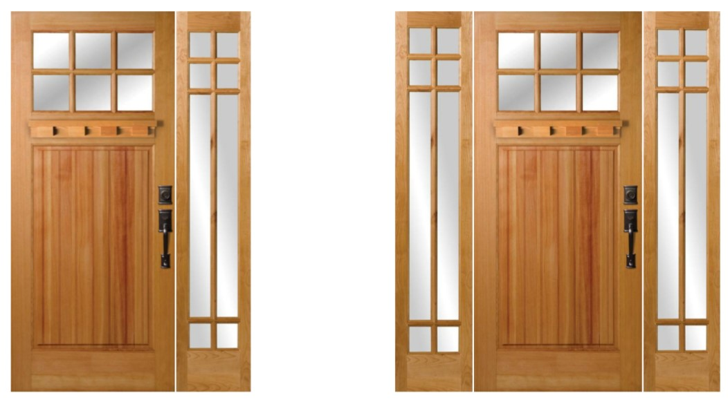You can learn more about this Rogue Valley Door  here  and sidelite  here .
