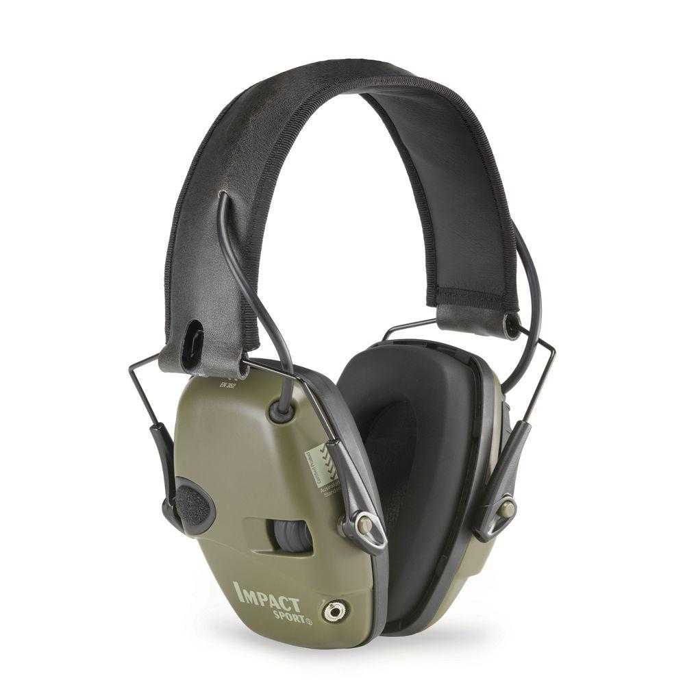 10. Ear Protection - Howard Leight Impact Sport Sound Management/Amplification Electronic Earmuffs Available at The Home Depot for $41.38