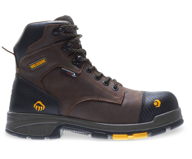 11. Steel-Toe Work Boots - Blade LX Waterproof Met-Guard CarbonMax 6
