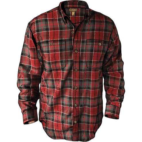 12. Flannel - Duluth Trading Company Men's Free Swingin' Trim Fit Flannel Shirt Available at Duluth Trading for $44.50
