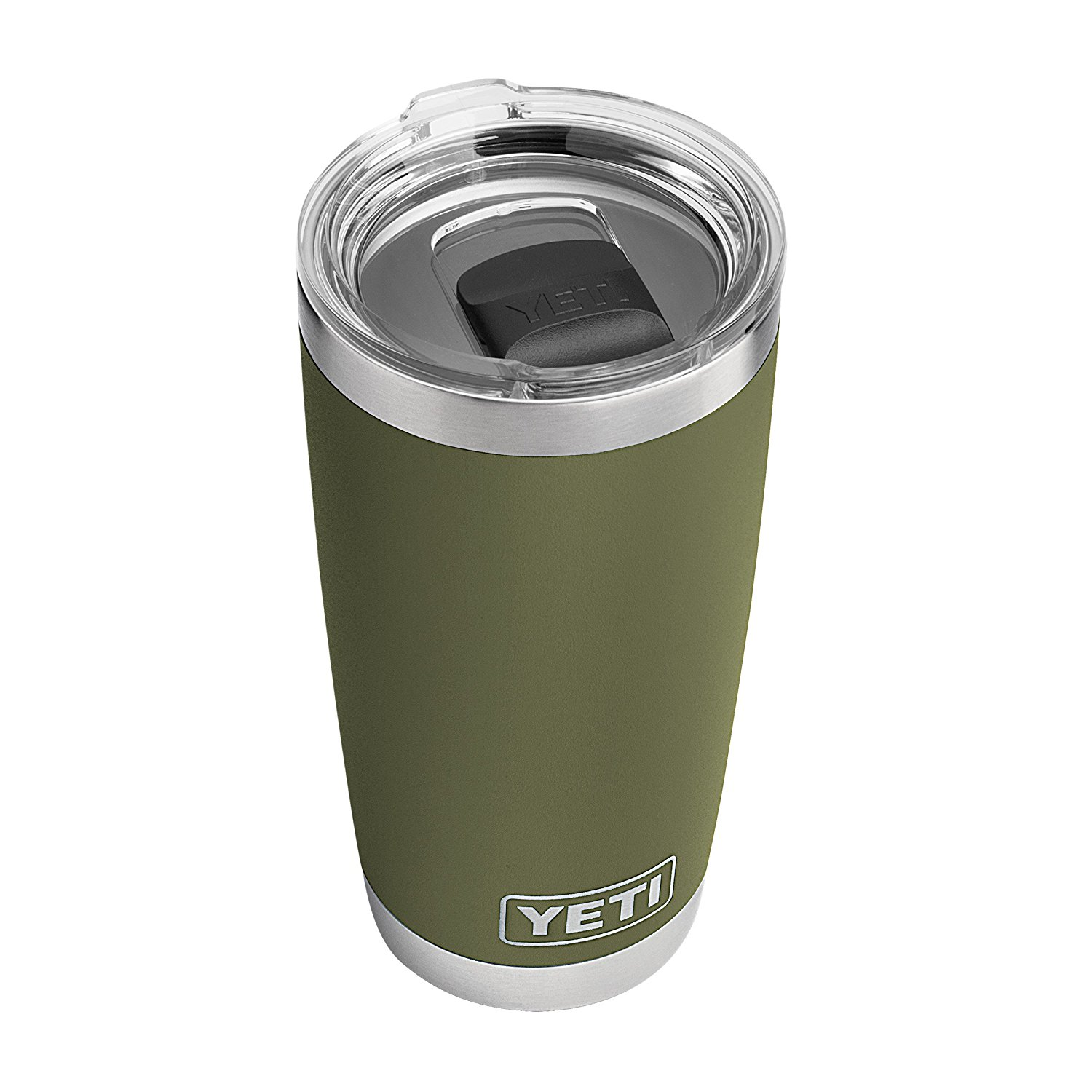 13. Travel Coffee Mug - YETI Rambler 20 oz Stainless Steel Vacuum Insulated Tumbler with MagSlider Lid Available at Amazon for $29.99