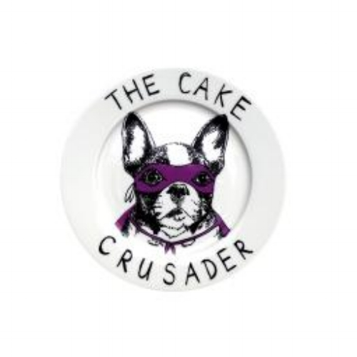 The Cake Crusader Plate