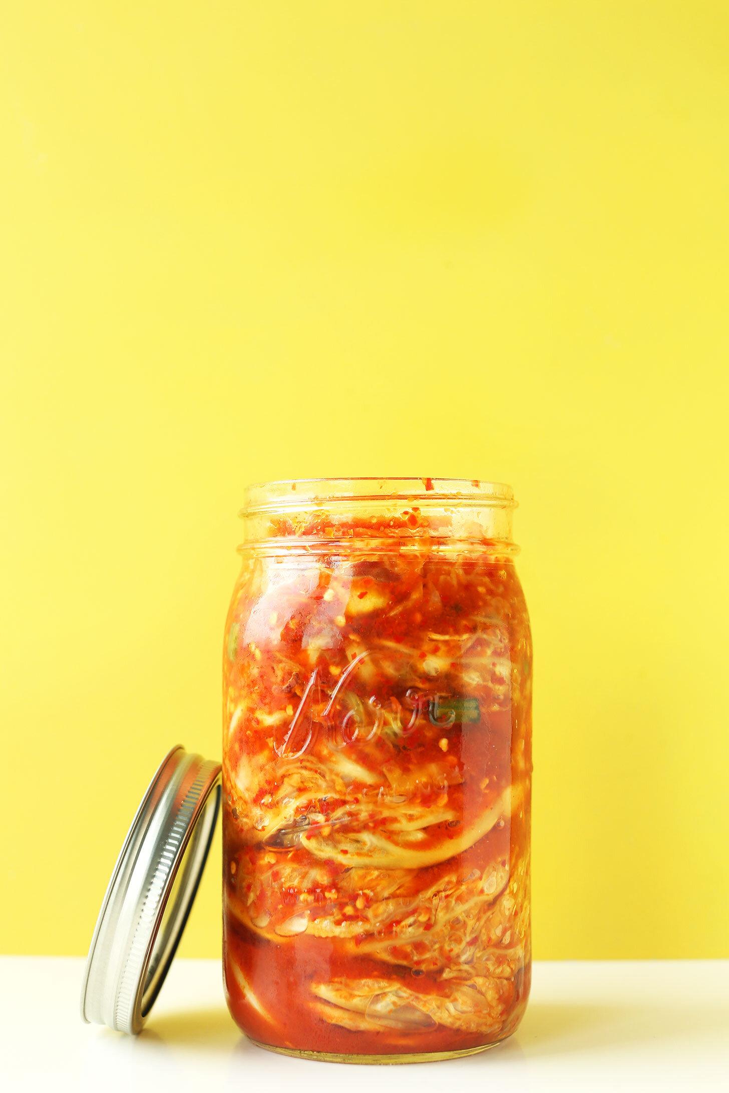 benefits of kimchi
