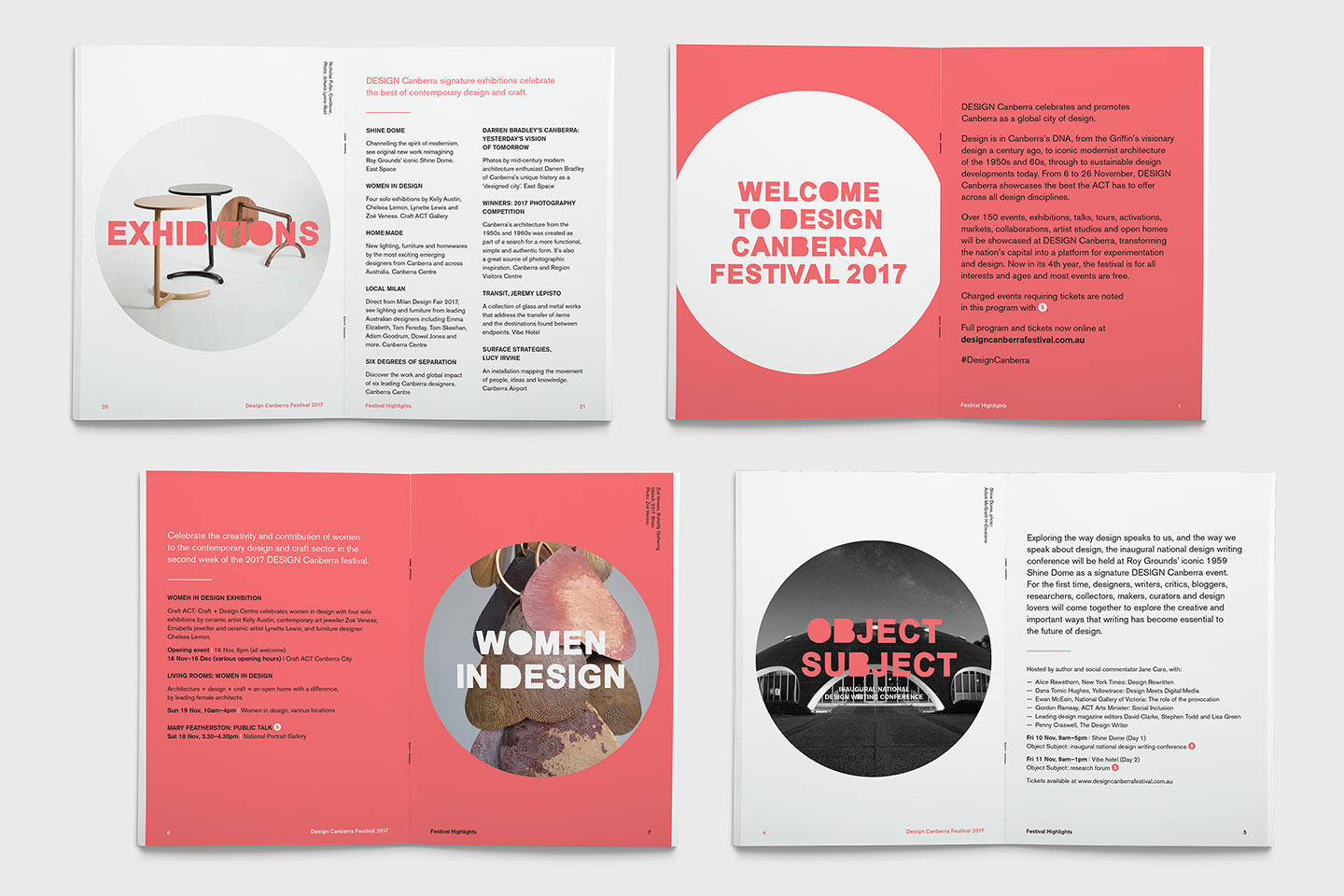 Event design collateral executed by CRE8IVE