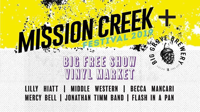 2019 is shaping up to be one of our best years yet. Excited to be part of @missioncreek this year! We will be playing the Big Free Show at Big Grove on 4/6/19.  @littlevillagemag just dropped a review of our album, Folklore. Linked on our bio!