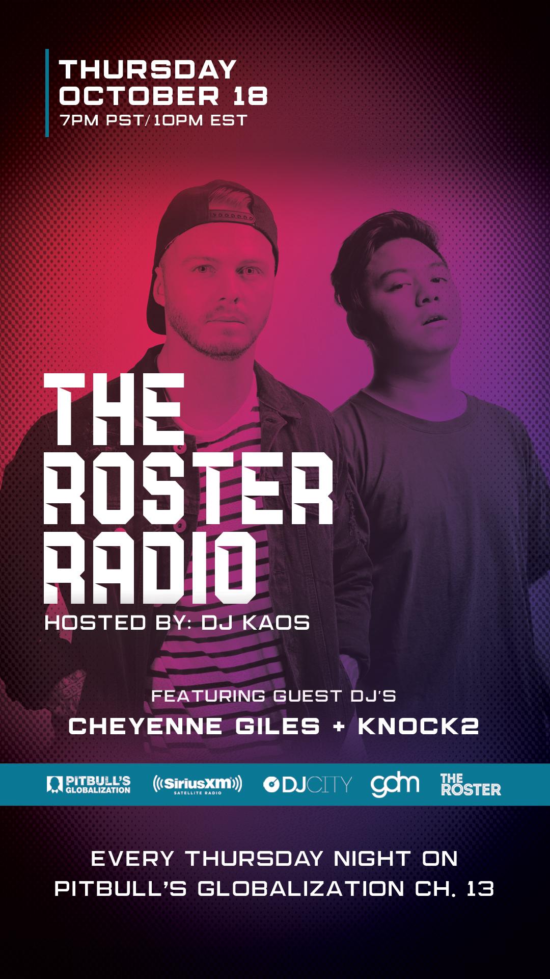 TheRosterRadio-101818-CheyenneKnock2-MainFlyer-IG.jpg