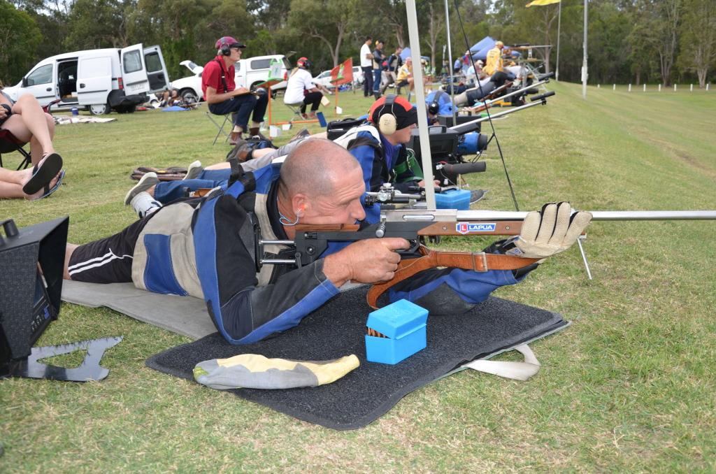 Target Rifle shooting