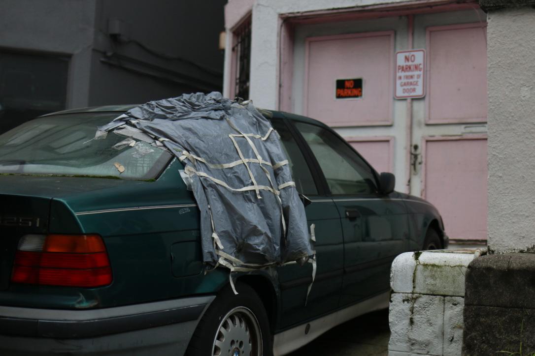 No Parking in Front of Garage Door. No Parking.