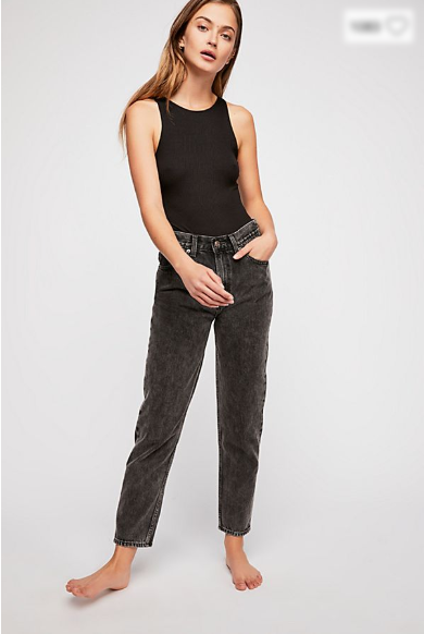 I'm loving these cropped, high-waisted, stone-washed Levi's (Mom Jeans – Brenda $139.95) from the  Levi's WaterLess  range. Their tapered ankle means they'll look hawt with a slinky party heel or a daytime sneaker. The rule: always tuck in the tops as the waist is so high and the upper thigh region is slightly loose, or you'll look boxy with an undefined waist. They're so comfy, I guarantee you won't take them off. How did we ever wear skinny hipsters for all those years?