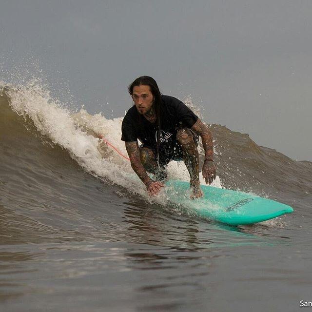 Our good friend and team rider Dustin has been loving the waves in Galveston lately. #surfpunkcoffee #surfpunk #coffee #surf #skate #wakeskate #wakesurf #skimboarding #bodysurfing #bodyboard #kayak #paddleordie #bmx #kustomkulture #chopper #bobber #coffeetime #coffeeporn #coffeemug #diy #roaster #smallbusiness #coffeeroaster @catchsurf