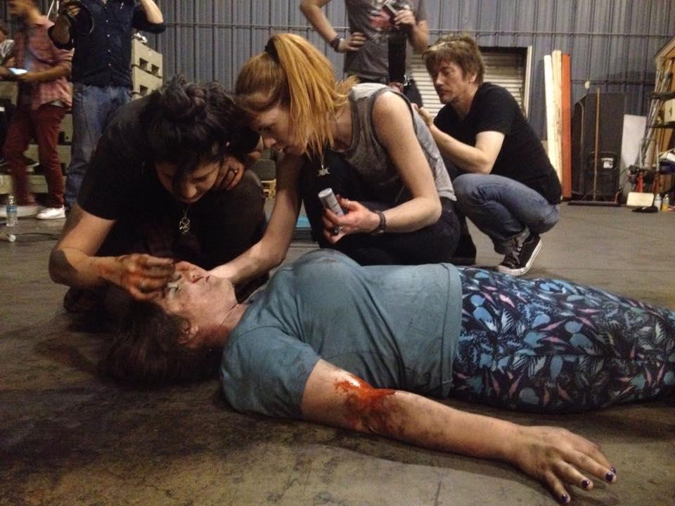 Matalos, 2015 Production: Kid Glove Killer Productions Director: Benji Carver Photo by Marius Layus Actress: Erika Curry  Makeup Assistant: Hannah Rice