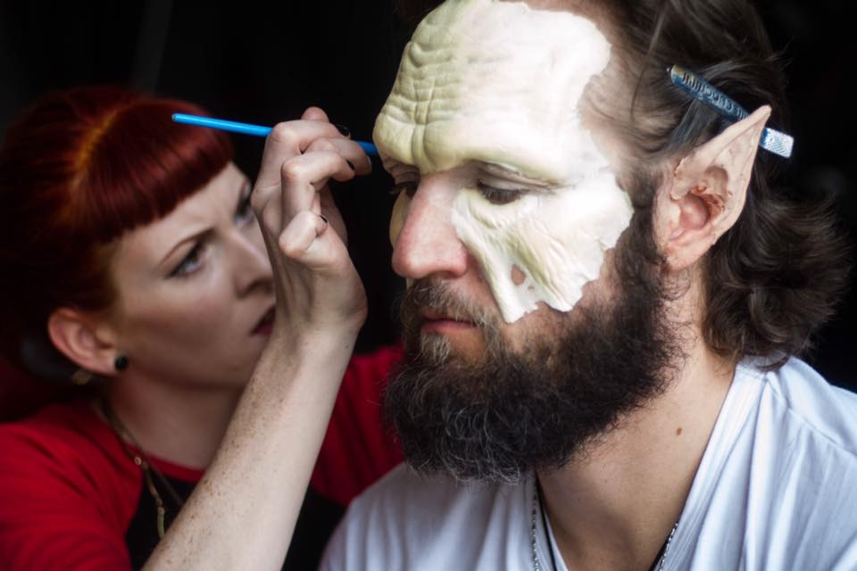 Thundercats Live Action, 2015 Production: The Scream Tea and Manifest Film Makeup Head: Scott Ramp  Photo by Taryn Carter