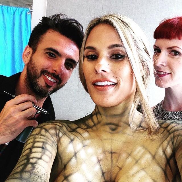 Peta, 2015  Lead Artist: Nix Herrera  Model: Bonnie-Jill Laflin