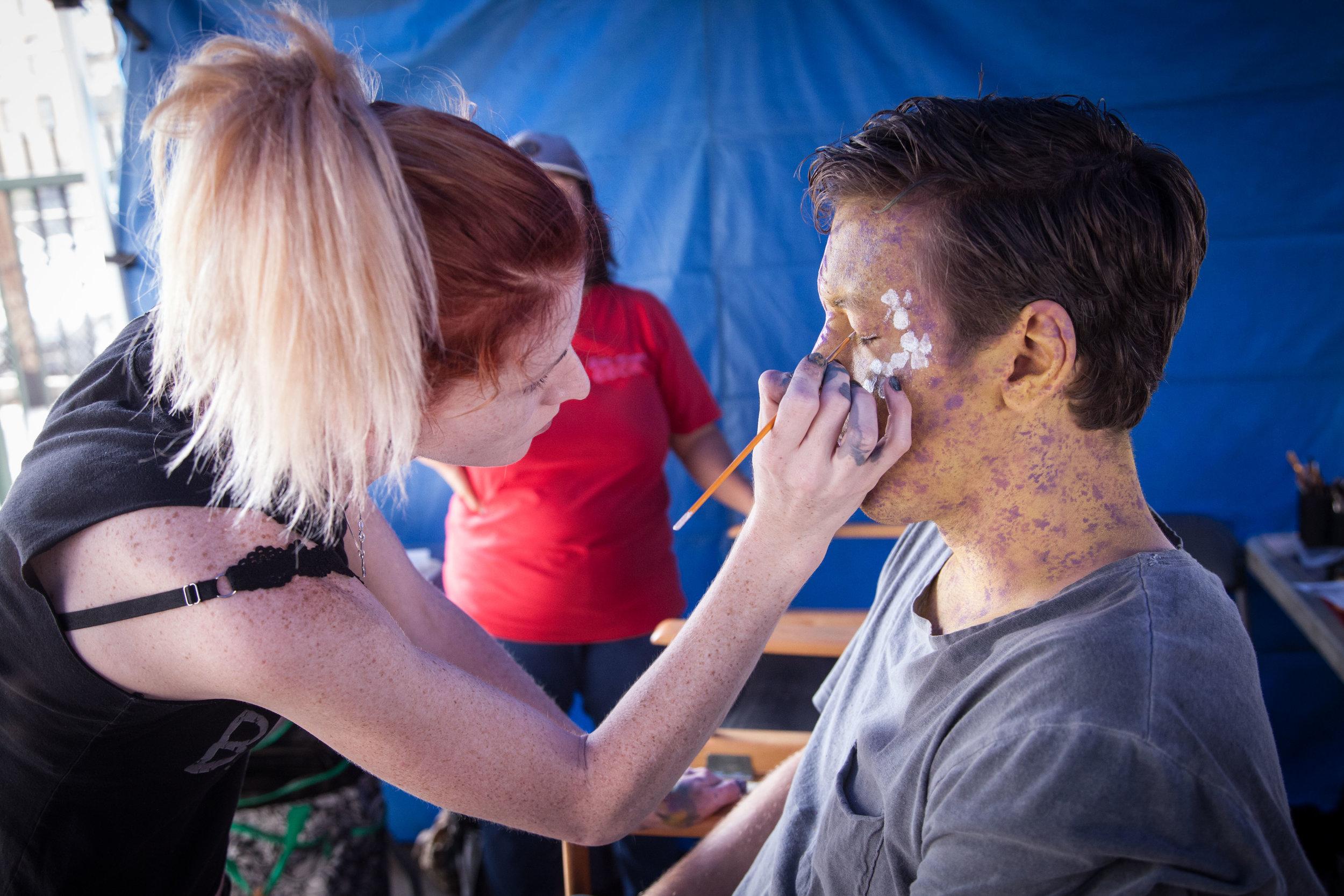 Miss 2059- Season 2, 2017  Production: New Form Digital & Go90  Makeup Dept. Head: Michelle Miller  SFX Makeup Dept. Head: Jim Ojala  Photo by: Will Akana